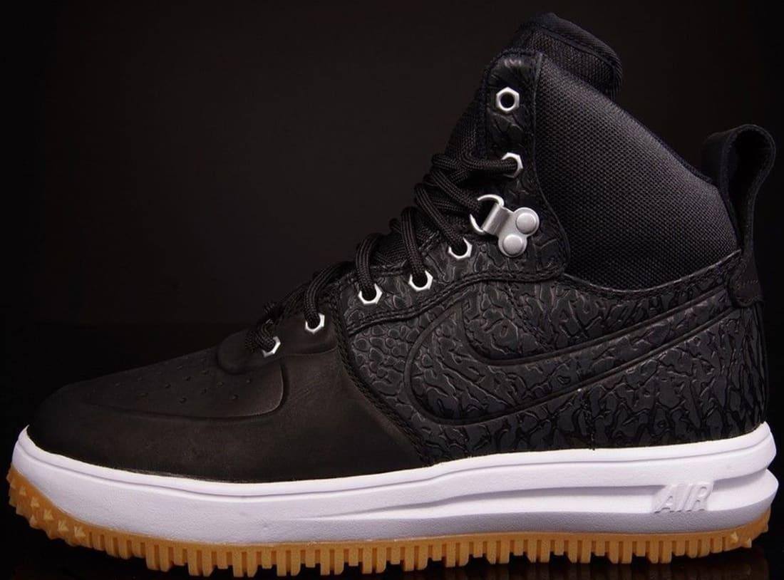Nike Lunar Force 1 Sneakerboot BlackBlack White | Nike