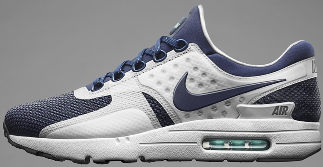 Nike Air Max Zero QS (White Midnight Navy Rift Blue Hyper Jade)