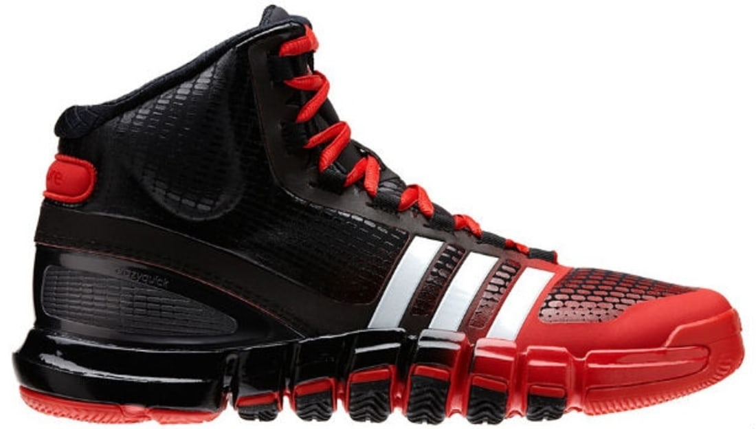 la meilleure attitude 718bd 815a1 adidas Crazyquick Black/Red-White | Adidas | Sole Collector