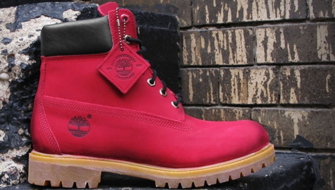Timberland 6-Inch Ruby Red/Ruby Red