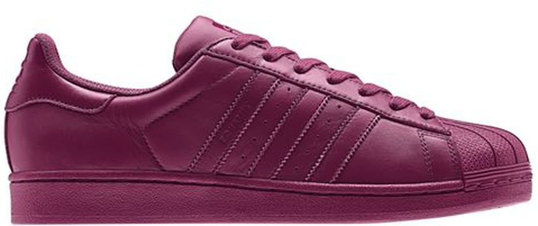 new images of san francisco online shop adidas Superstar Solid Magenta/Solid Magenta-Solid Magenta ...
