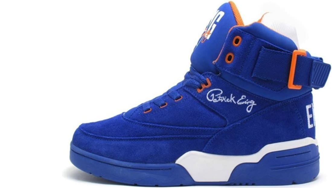 buy online ca277 a7432 Ewing Athletics Ewing 33 Hi Blue Orange-White   Ewing Athletics ...