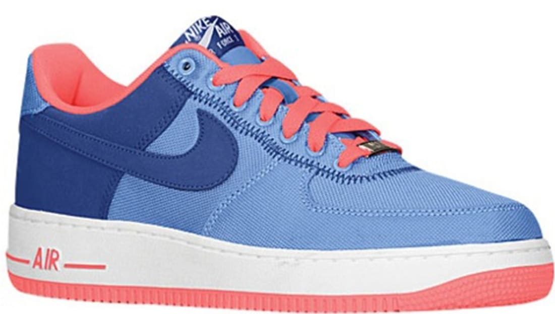 Nike Air Force 1 Low Distance Blue/Deep Royal Blue-Atomic Red