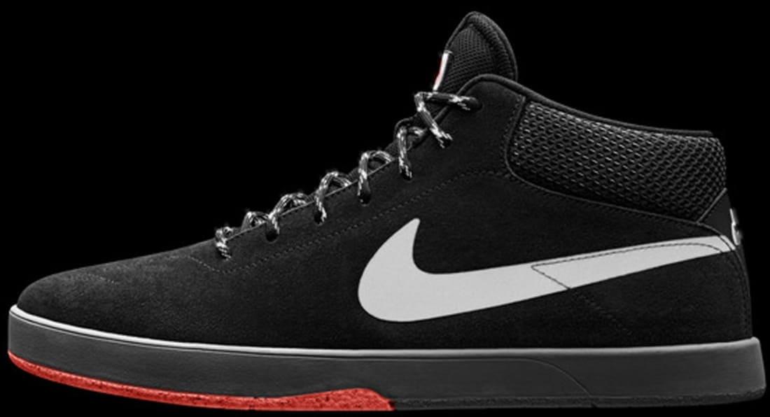 37453d870815 Nike SB Eric Koston Mid Black Hyper Crimson-Black
