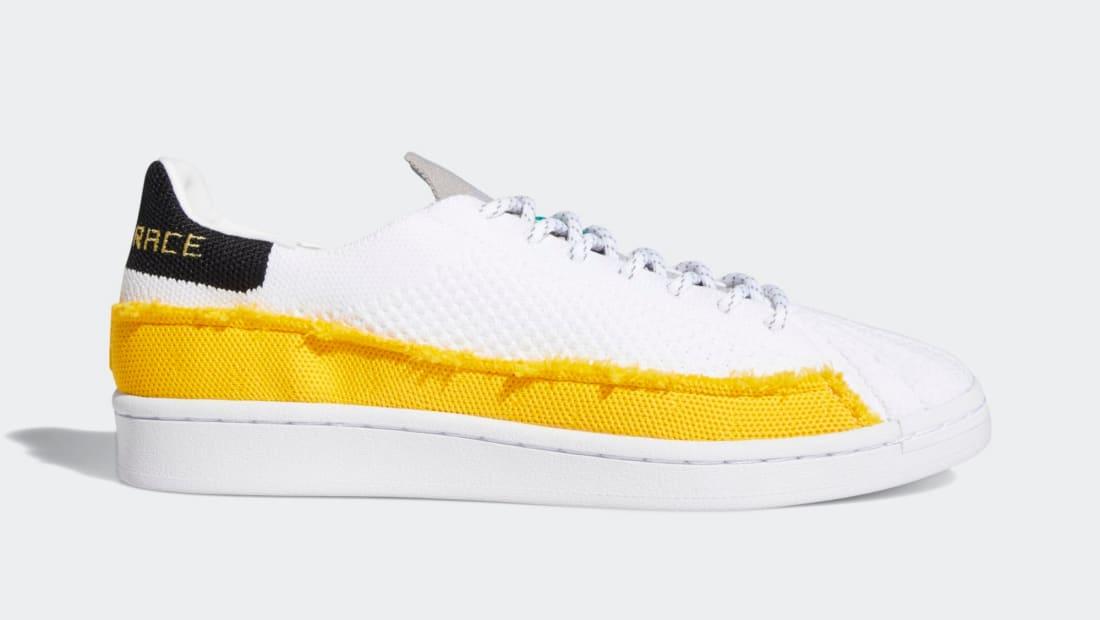 Pharrell Williams x Adidas Superstar Cloud White/Bold Gold/Light Purple
