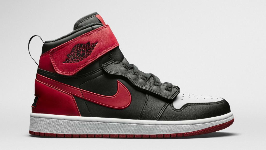 Air Jordan 1 High Flyease Black/Red