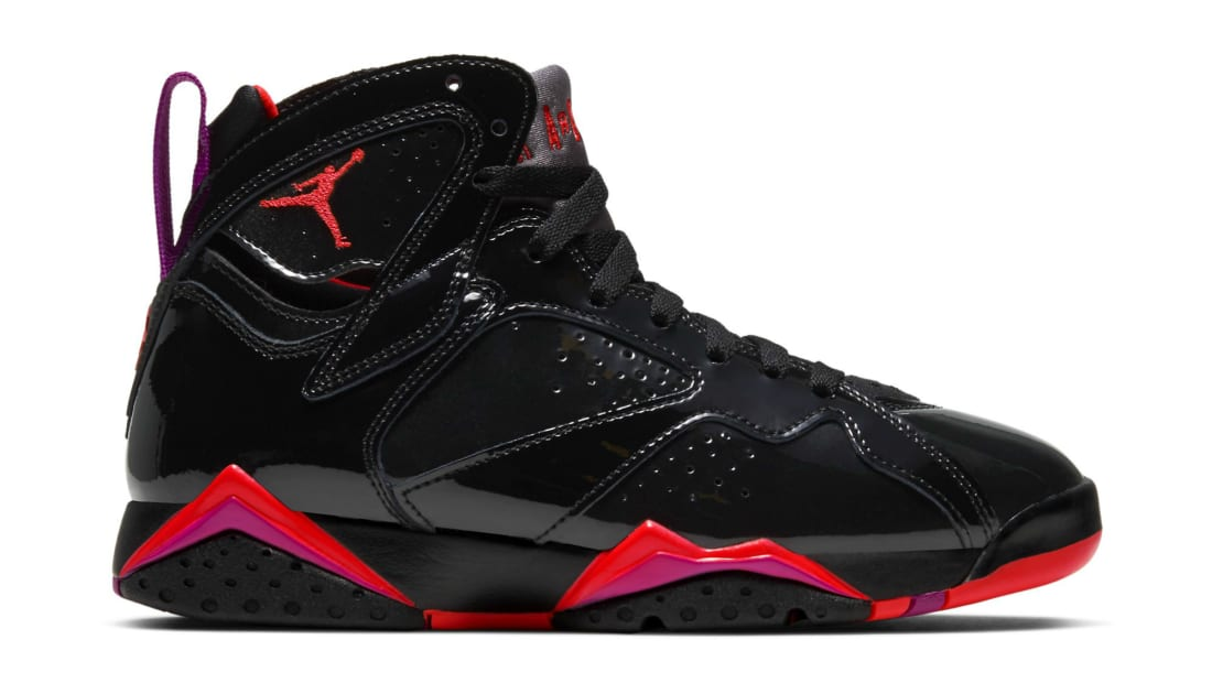 Air Jordan 7 Retro WMNS Black/Bright Crimson-Anthracite