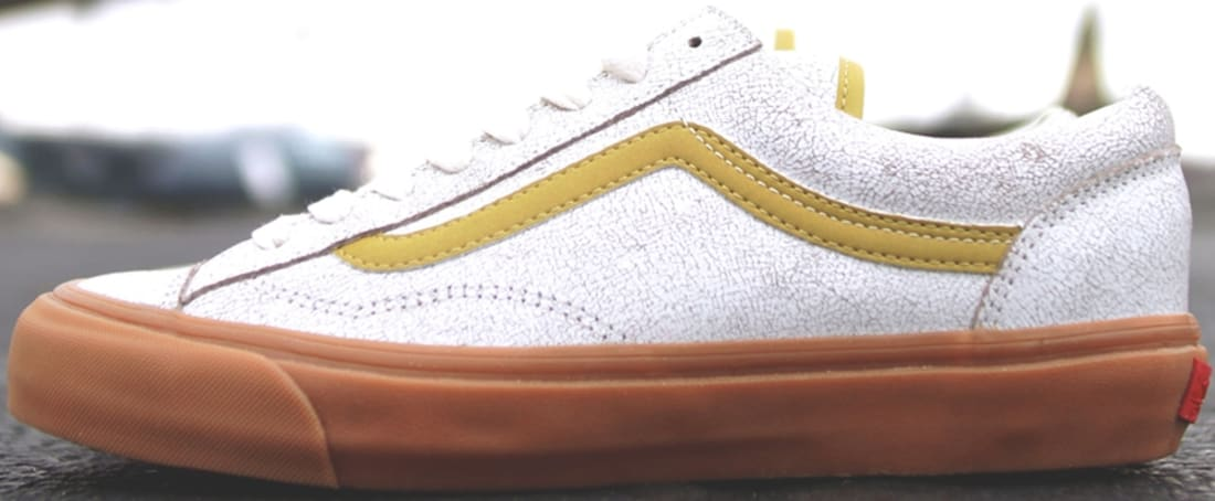 Vans Vault Style 36 Off White/Reflective Gold