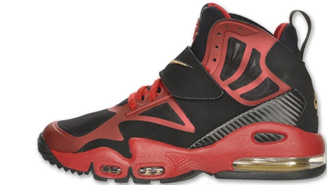 official photos 4b7df 7ad55 Nike Air Max Express Black Metallic Gold-Gym Red-White