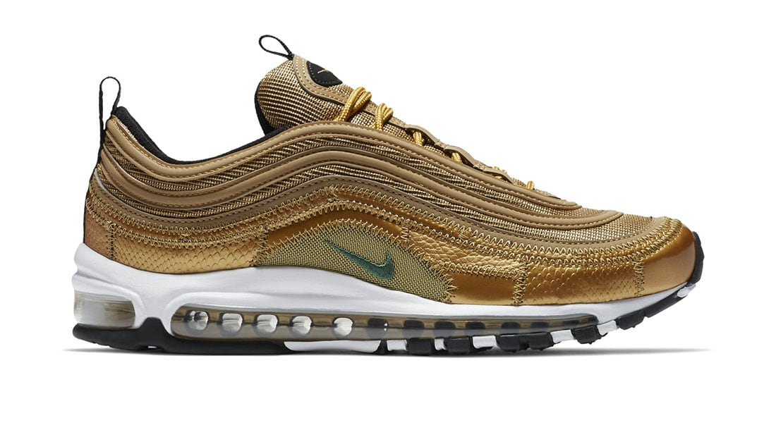 New Style Cristiano Ronaldo With Nike Air Max 97 CR7 Gold