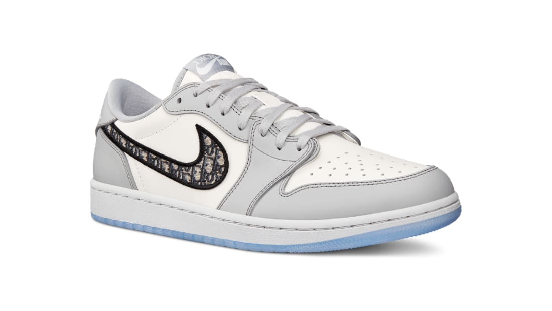 Dior x Air Jordan 1 Low Wolf Grey/Sail-Photon Dust-White