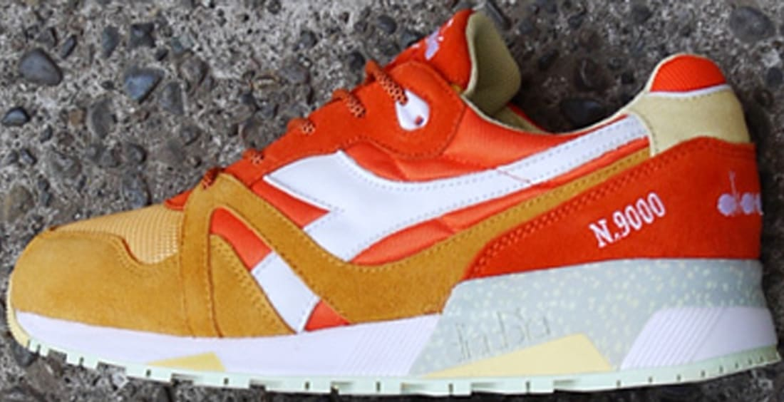 Diadora N.9000 Orange/White