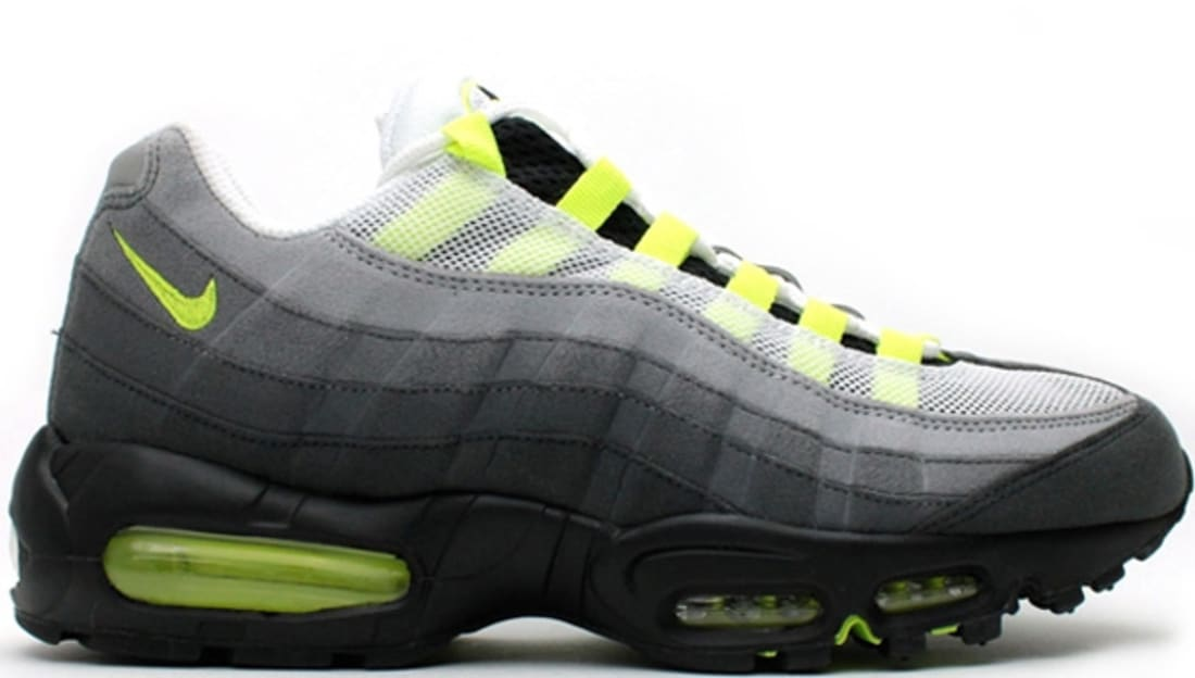 70cb997670 Nike Air Max '95 OG White/Neon Yellow-Black-Anthracite | Nike | Sole ...