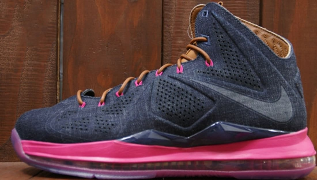 half off 3cb10 cb2c1 Nike · Nike LeBron · Nike LeBron 10 (X). Nike LeBron X EXT Denim