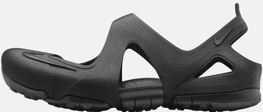 Nike Free Rift Sandal Black/Black