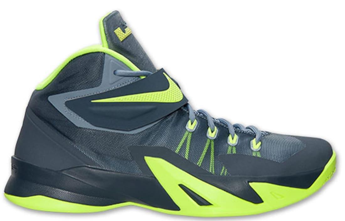 3d42e40a7d06 Nike Zoom Soldier VIII Magnet Grey Volt-Dark Magnet Grey