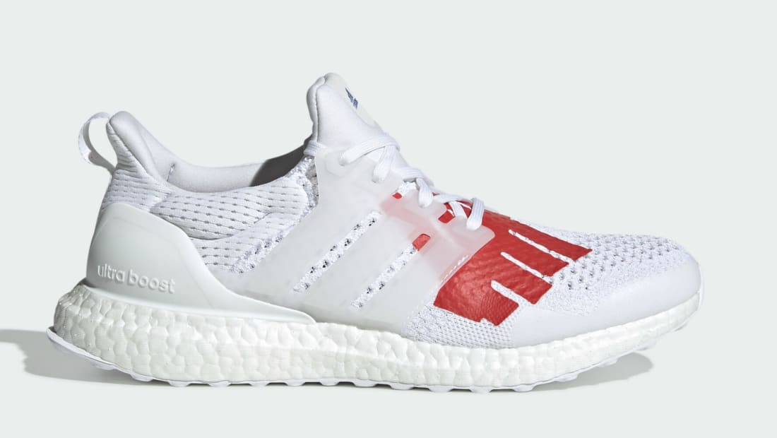 Undefeated x adidas Ultra Boost WhiteRed Blue For Sale