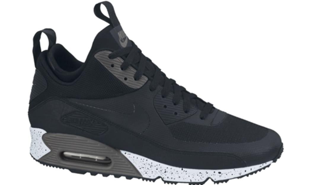 Where Buy Original Nike Air Max 90 Sneakerboot Black White