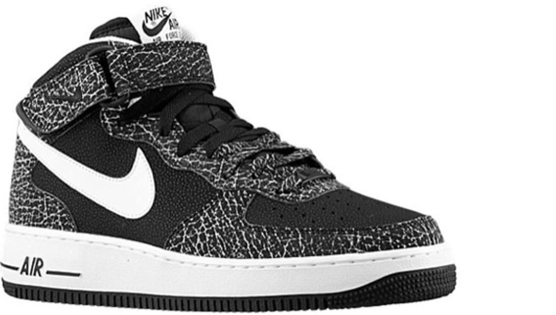 Nike Air Force 1 Mid BlackWhite | Nike | Sole Collector