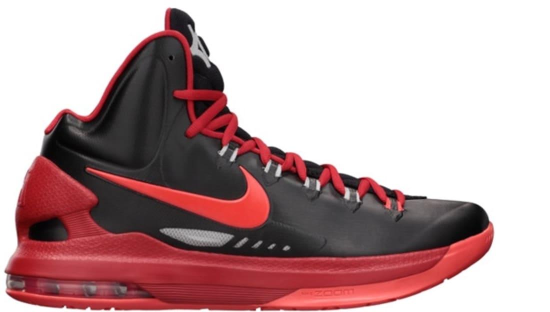 Nike KD 5 Black/Bright Crimson