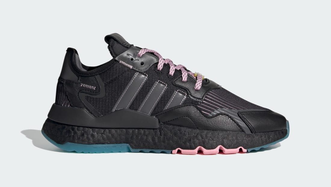 Ninja x Adidas Nite Jogger Core Black/Grey Five/Blue Glow