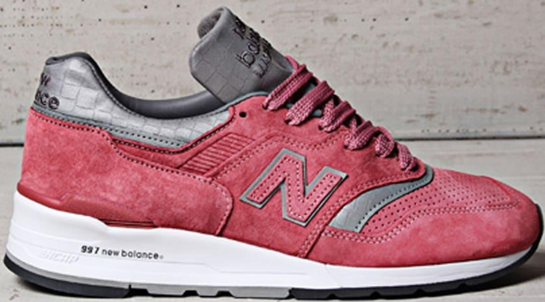 New Balance 997 Rose/Grey