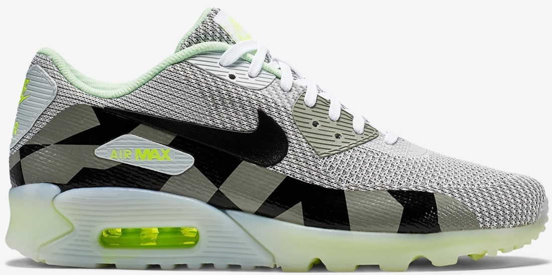 Nike Air Max '90 KJCRD Ice QS White/Black-Grey Mist | Nike | Sole ...