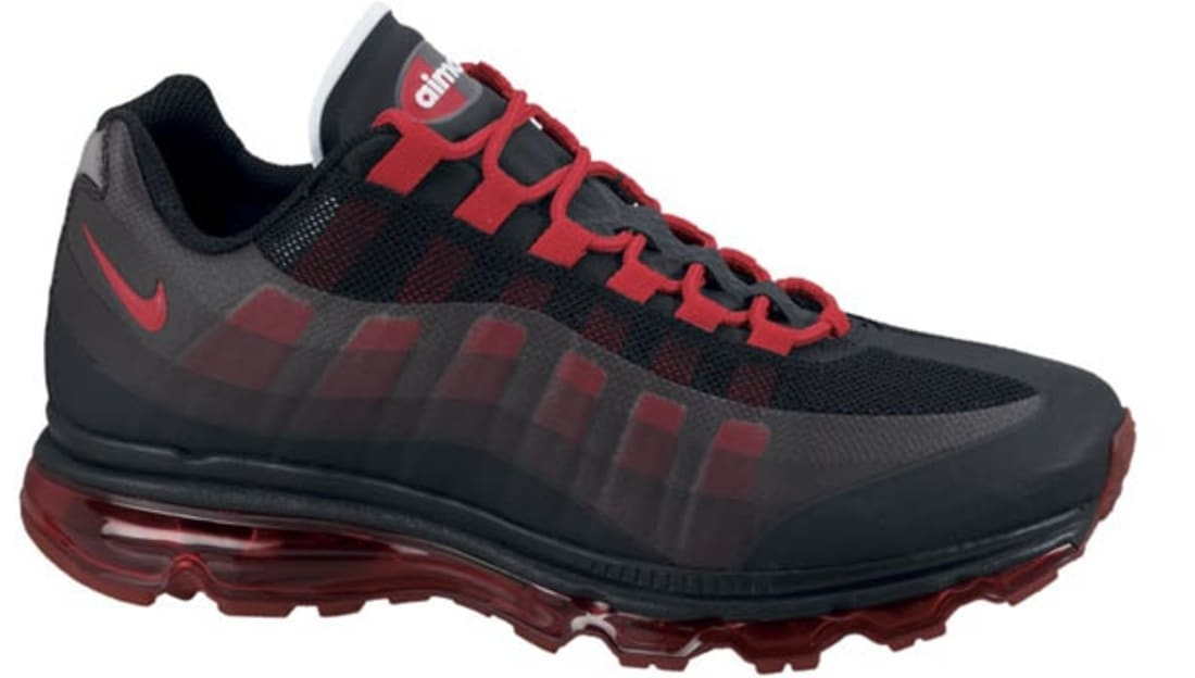 ce0f6e7747 Nike Air Max '95+ BB Black/Sport Red-Anthracite | Nike | Sole Collector