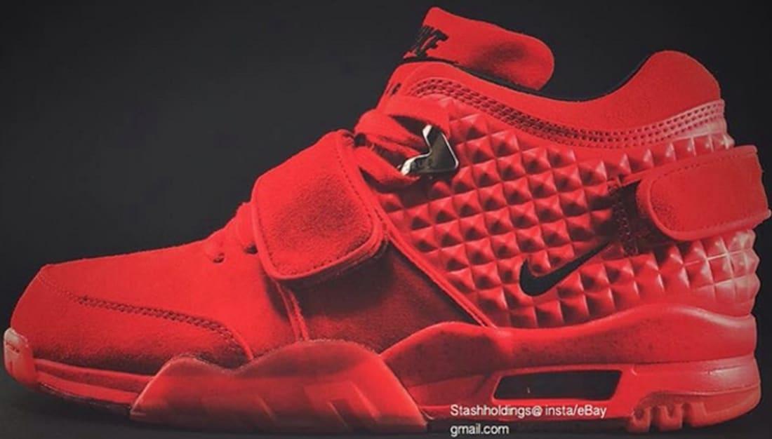 Nike Air Trainer V Cruz Premium Gym Red/Black-Gym Red
