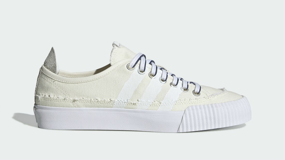 Donald Glover x Adidas Nizza Off-White/Cloud White-Customized