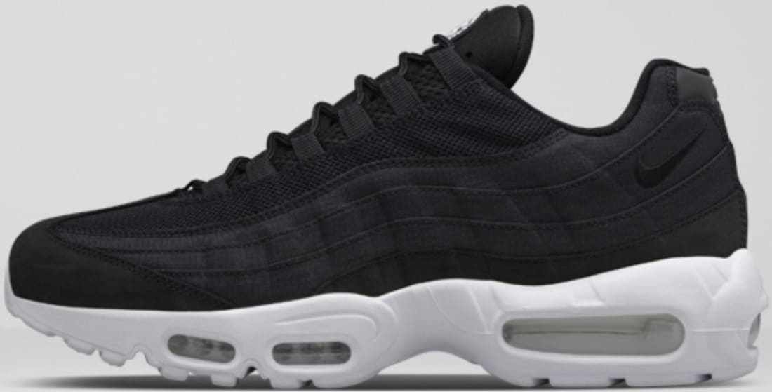 Stussy X Nike Air Max 95 Black Nike Sole Collector