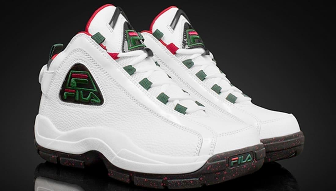 Fila 96 White/Green-Fila Red-Black