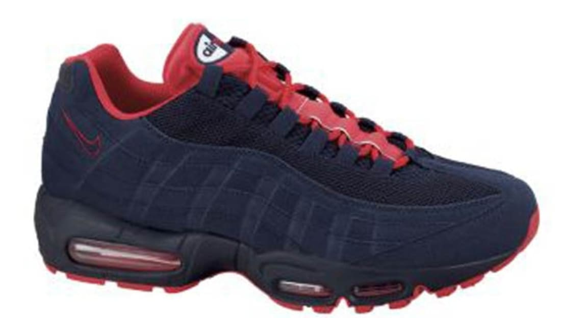 Nike Air Max '95 ObsidianObsidian White Action Red | Nike