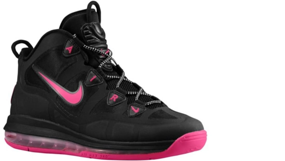 Nike Air Max Uptempo Fuse 360 Black/Pink Force-White