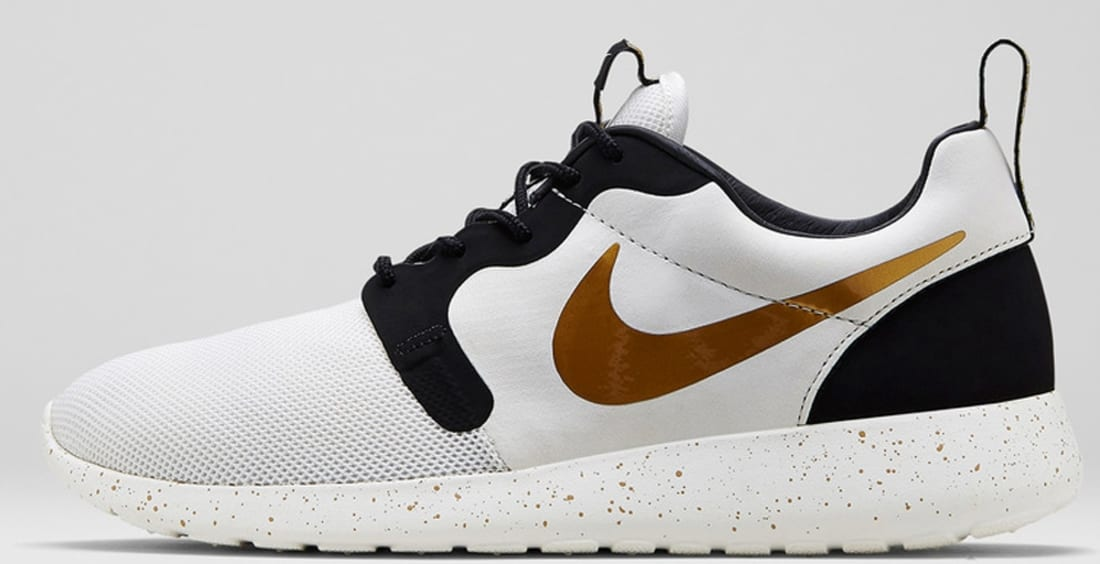 cheap for discount 79b13 27d5f Nike Roshe Run Hyp Premium QS Ivory Metallic Gold-Black
