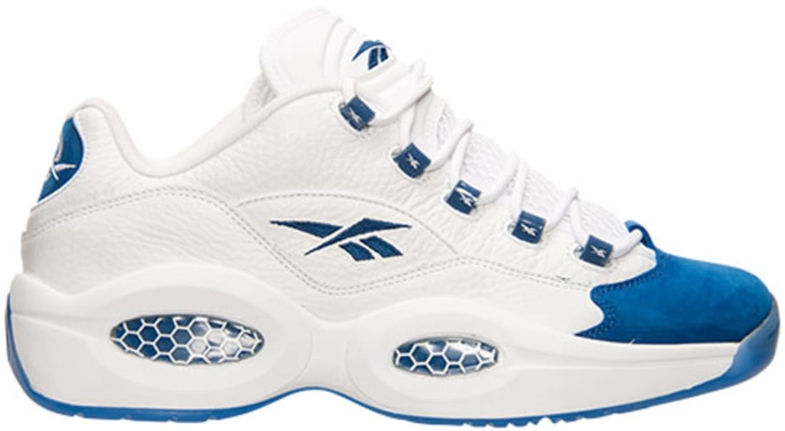 Reebok Question Low White/Collegiate Royal-Ice