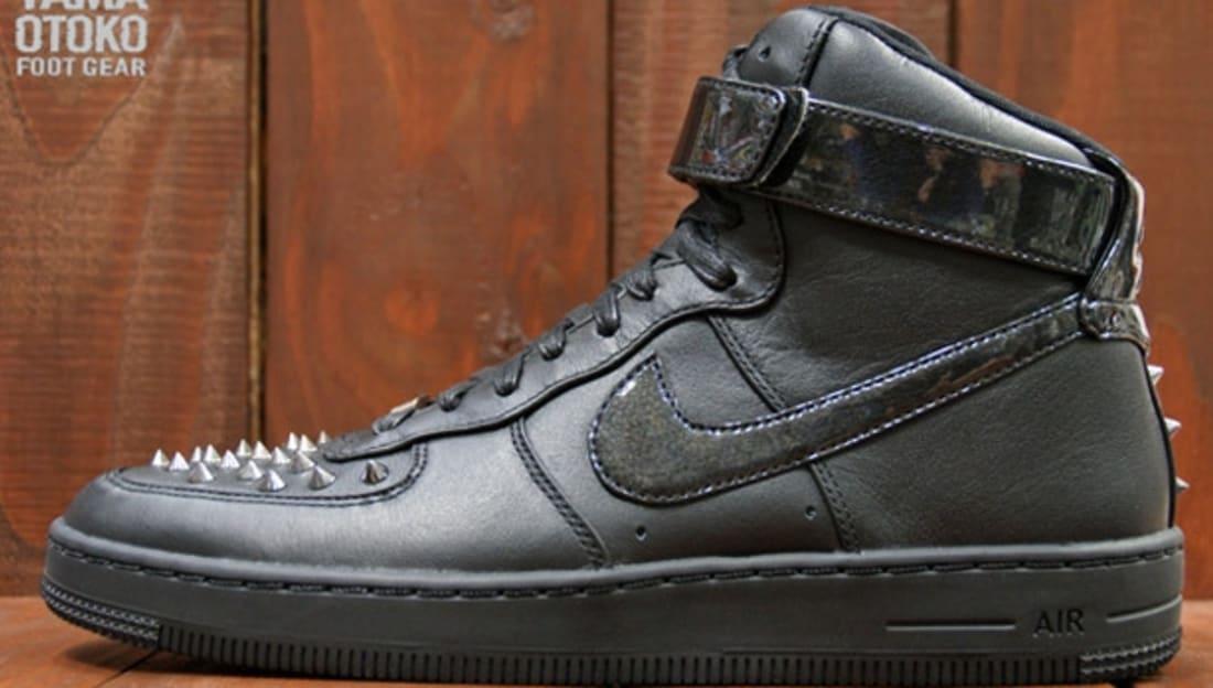 Nike Air Force 1 Downtown High Spike Black/Black