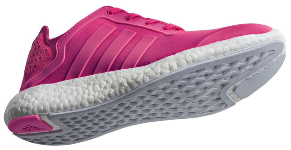 adidas Pure Boost Women's Bold Pink/Bold Pink-Clear Grey