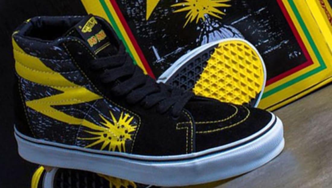 Vans Sk8-Hi Black/Yellow   Vans   Sole