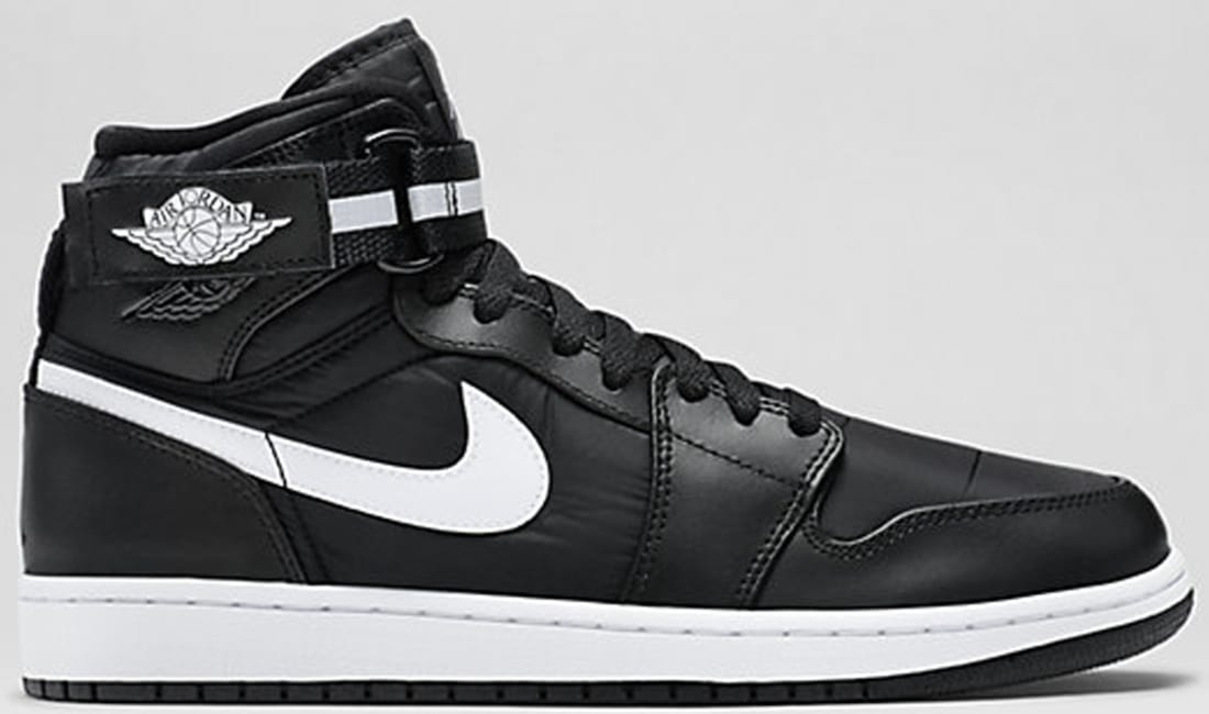Air Jordan 1 Retro High Strap Black/Dark Grey-White