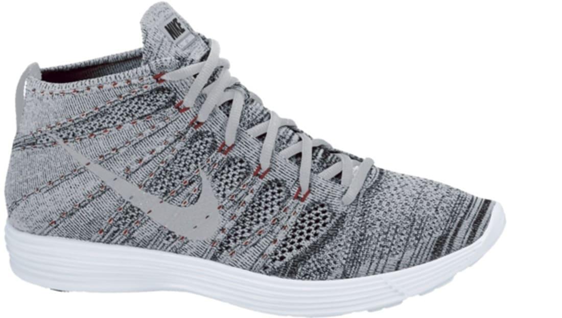 brand new eebae 6f283 Nike Lunar Flyknit Chukka Wolf Grey/Wolf Grey-Black-White | Nike ...