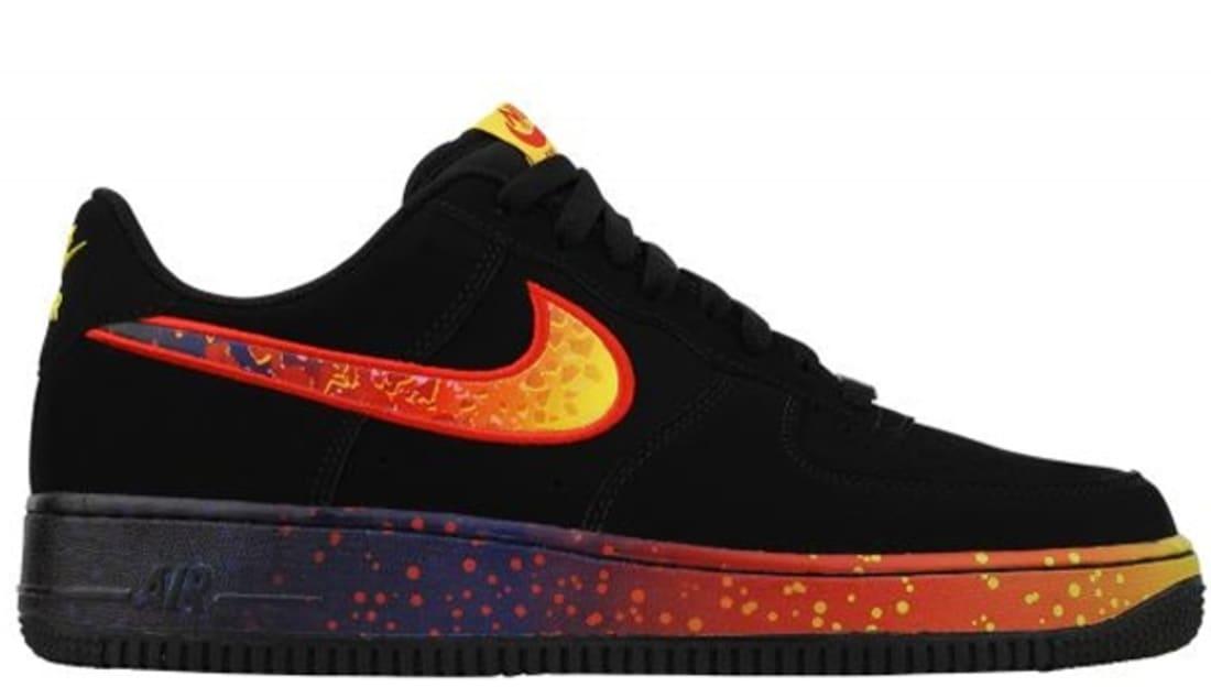 Nike Air Force 1 Low Black Fire  5e3ed21e1