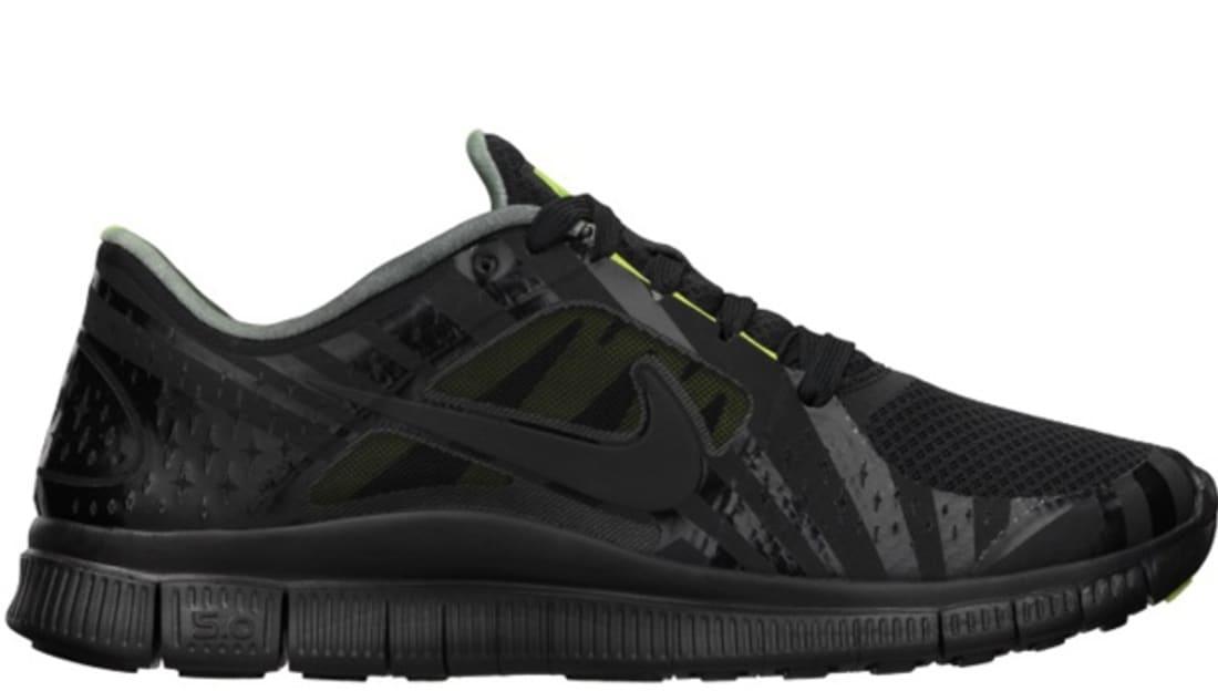 1cfee8d89c5 Nike Free Run+ 3 Hurley NRG Black Black-Volt