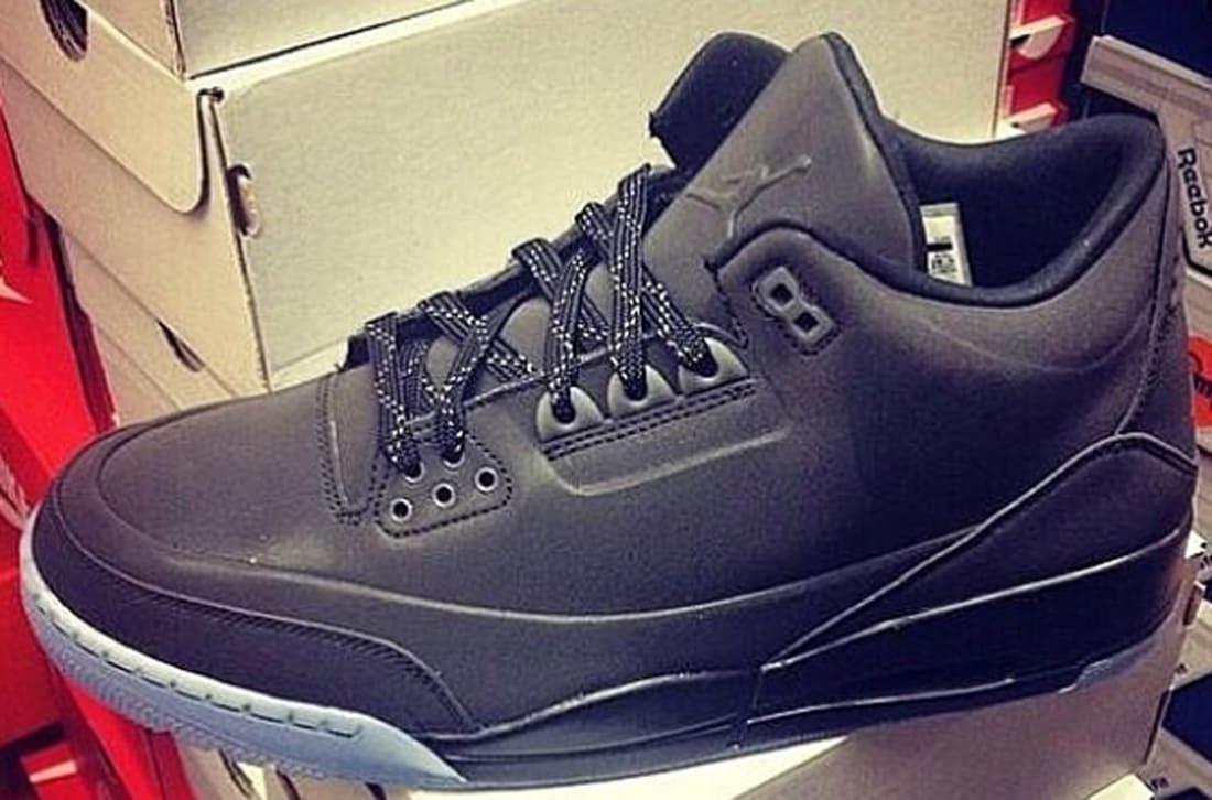 Air Jordan 5Lab3 Black/Black-Clear