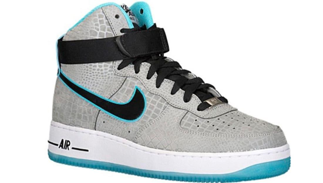 Nike Air Force 1 Hi CMFT Premium Reflect Silver/Black-Gamma Blue