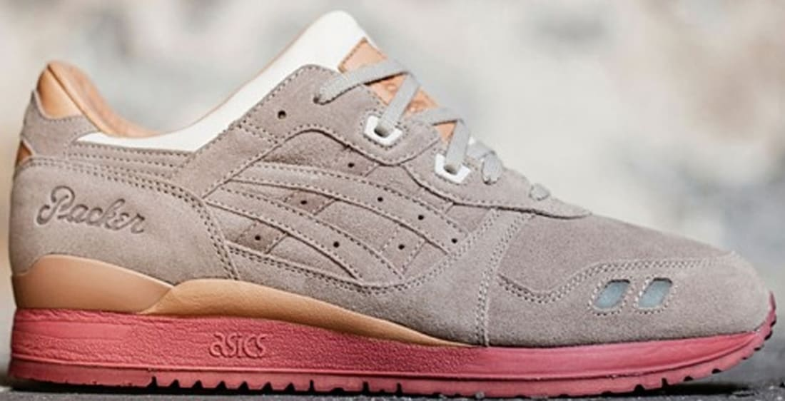 best cheap 9a418 8d157 Asics Gel-Lyte III Taupe/Taupe | ASICS | Sole Collector