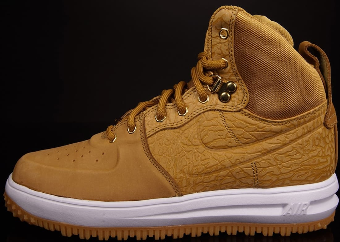 in stock 05dc1 ef894 Nike Lunar Force 1 Sneakerboot Wheat Wheat-White-Flat Gold