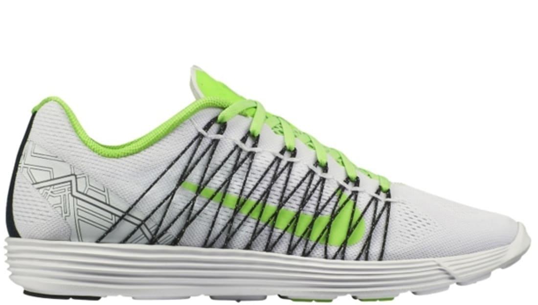 Nike Lunaracer+ 3 White/Electric Green-Black-Metallic Silver