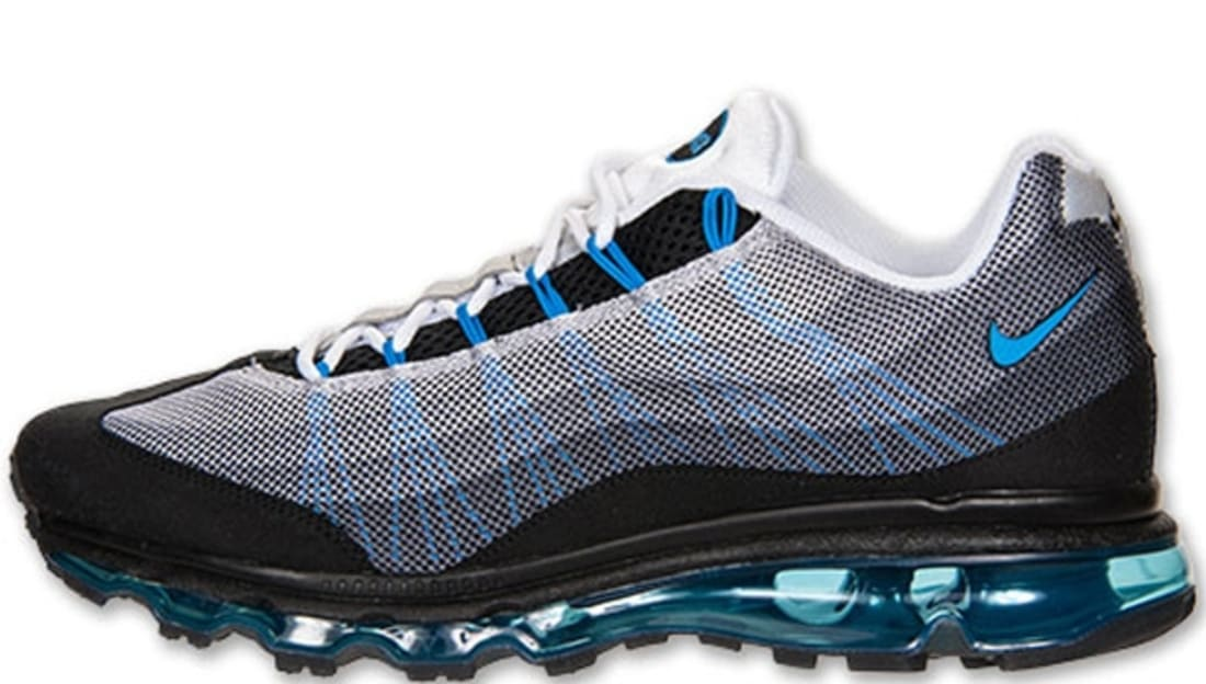 Nike Air Max 95 Dynamic Flywire Black Photo Blue Black Anthracite