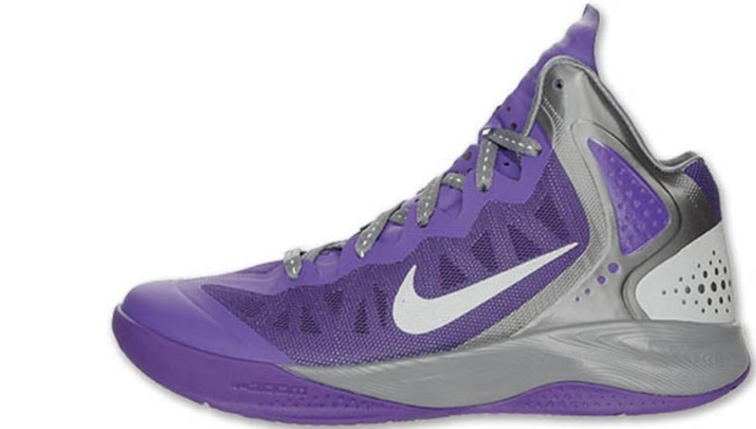 official photos 29531 aeb7d Nike · Nike Basketball · Nike Zoom Hyperenforcer. Nike Zoom Hyperenforcer  PE Club Purple/Metallic Silver-Cool Grey